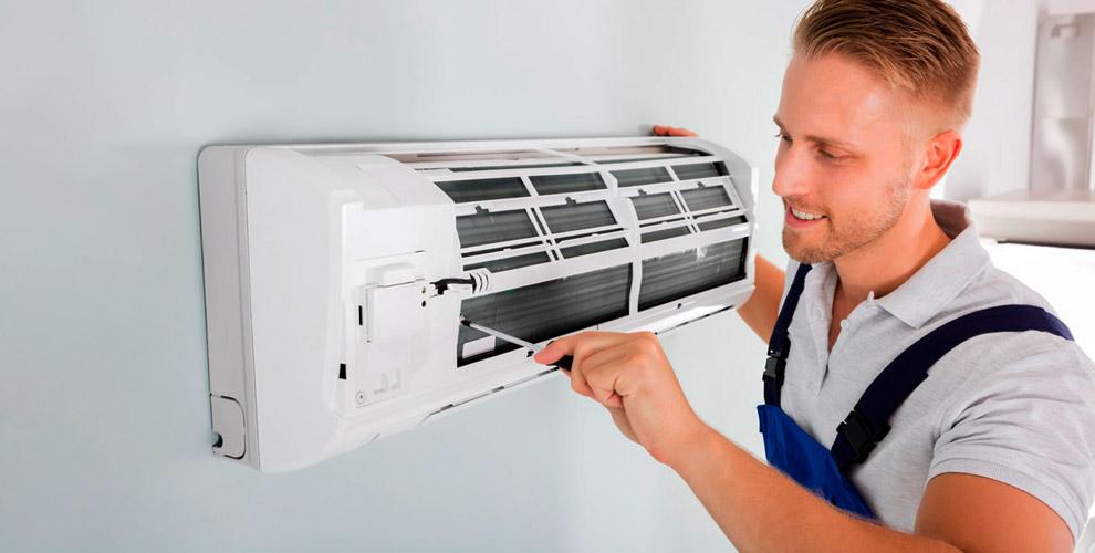 чистка кондиционера - Поможем убрать запах из кондиционера
